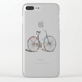 Bicicleta Clear iPhone Case