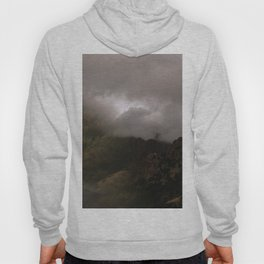 Abstract Foggy Mountaintop Hoody
