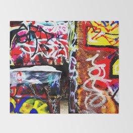 Grafitti Throw Blanket