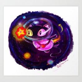 Cookie Cat! Art Print