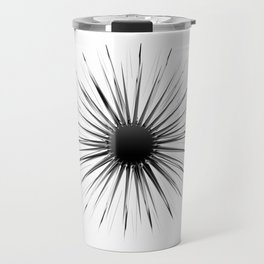 Dark star power (sharp steel rays) Travel Mug