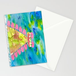 7 Penny the Pink Elephant Stationery Cards