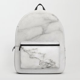 White Marble 006 Backpack