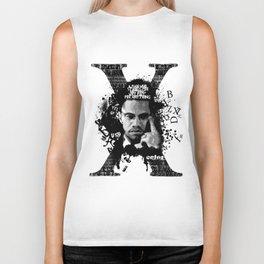 Malcolm X Stand Tall Biker Tank