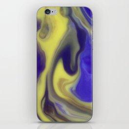 Milky Way Purple Day iPhone Skin