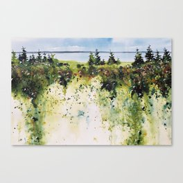 along Sainte Mary's Bay, Nova Scotia Canvas Print