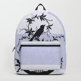 Lavender Estate Bird  & Yacht Stripe Backpack