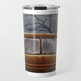 I used to look at life through this windshield. Travel Mug