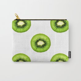 Kiwi Fruit Slice Carry-All Pouch