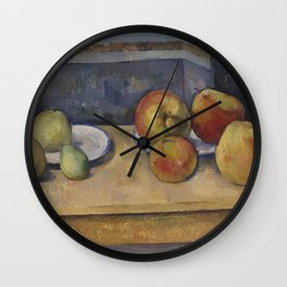 Still Life With Apples and Pears Wall Clock