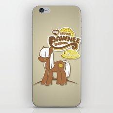 My Little Pawnee iPhone & iPod Skin
