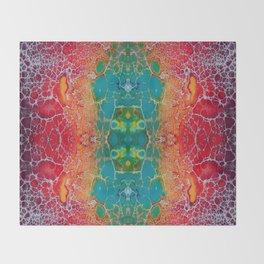 Fragmented 51 Throw Blanket
