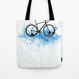 watercolor bicycle Tote Bag