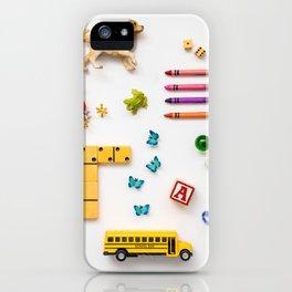 Kids' Stuff iPhone Case