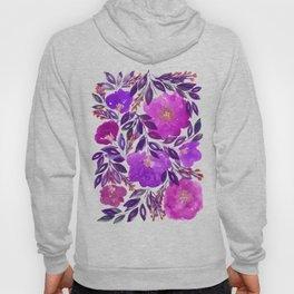 hand painted flowers_3b Hoody