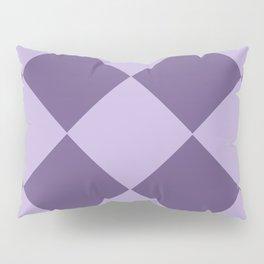 Lavenders and Diamonds Pillow Sham