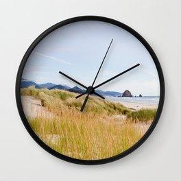 At Cannon Beach Wall Clock