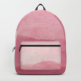 Ombre Waves in Pink Backpack