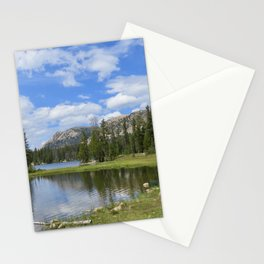 Canoes by Mirror Lake Stationery Cards
