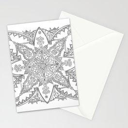 Boho Pattern Mandala Stationery Cards