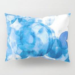 Scandinavian art print, Scandinavian poster art, blue art, Scandinavian poster print, Modern poster Pillow Sham