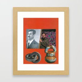 Four Portraits of the Fertile Crescent Framed Art Print