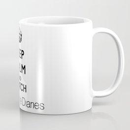 Keep Calm And Watch The Vampire Diaries Coffee Mug