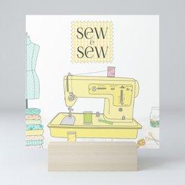 Sew and Sew Mini Art Print