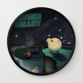 Earthbound - Greetings From Saturn Valley Wall Clock