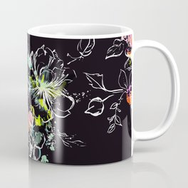 Camp Floral_Midnight Sun Coffee Mug