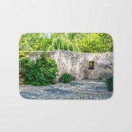 Old Castle Wall Bath Mat