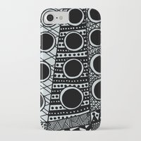 dalek iPhone & iPod Cases featuring Dalek by Rebecca Bear