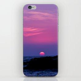 Hawaiian Sunset Over the Pacific Ocean iPhone Skin