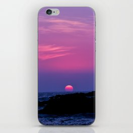 Hawaiian Sunset Over the Pacific Ocean iPhone Skin