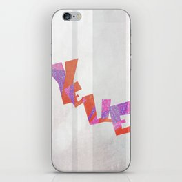 Yelle iPhone Skin