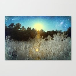 First Creek Lake | Infrared  Canvas Print