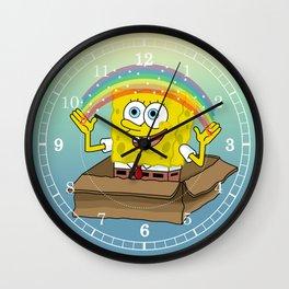 la imaginacion de bob Wall Clock