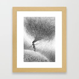 Dissociating Framed Art Print