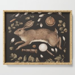 Rabbit's Garden Collection Serving Tray