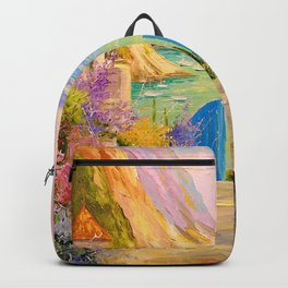 Road to the sea Backpack