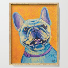 French Bulldog (includes rescue donation!) Serving Tray