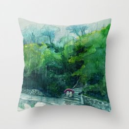One Step More vol.2 Throw Pillow