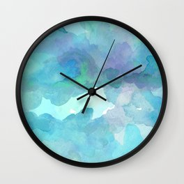 Breathing Under Water Wall Clock
