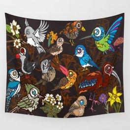 CA 12 BIRDS (CA鳥風月) Wall Tapestry