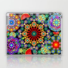 Mandalas & Exotic Fruits Pattern Laptop & iPad Skin