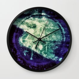 Out of Line Wall Clock