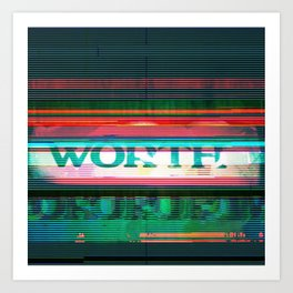 WORTH Art Print