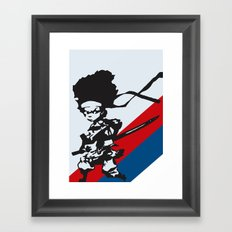Huey Freeman - The Boondocks Framed Art Print