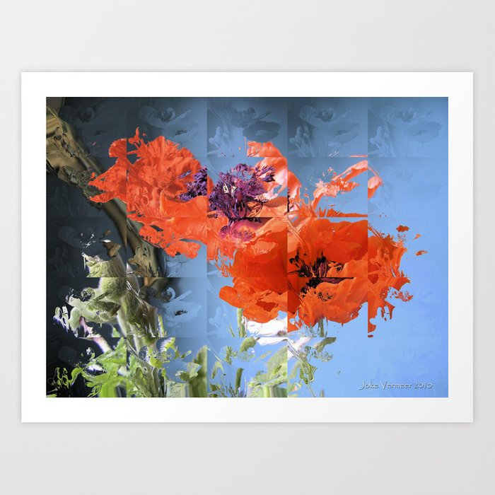 Put on Your Red Shoes and Dance the Blues Art Print