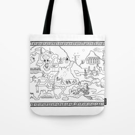 The Excavation Tote Bag